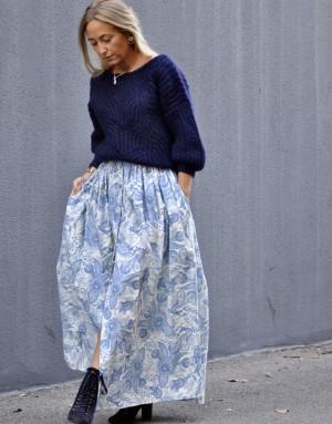 Jupe longue Margot - Ma petite robe française