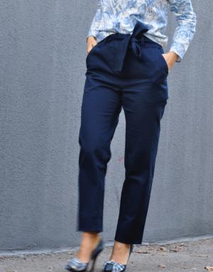 Pantalon bleu marine - Ma petite robe française